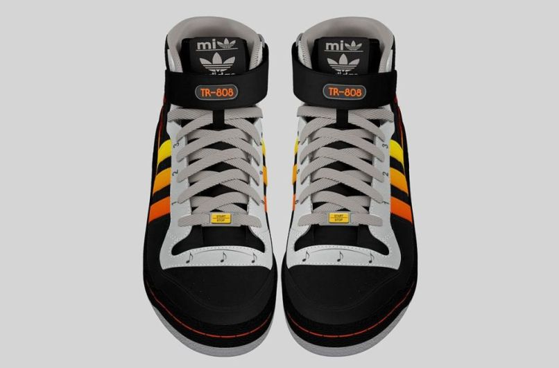 adidas tr 808 prototype 2 This adidas shoe design has a  Roland TR 808 drum machine built right in