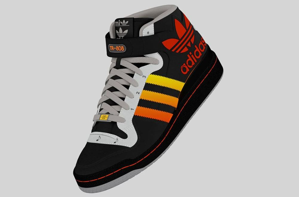 adidas tr 808 prototype 5 This adidas shoe design has a  Roland TR 808 drum machine built right in