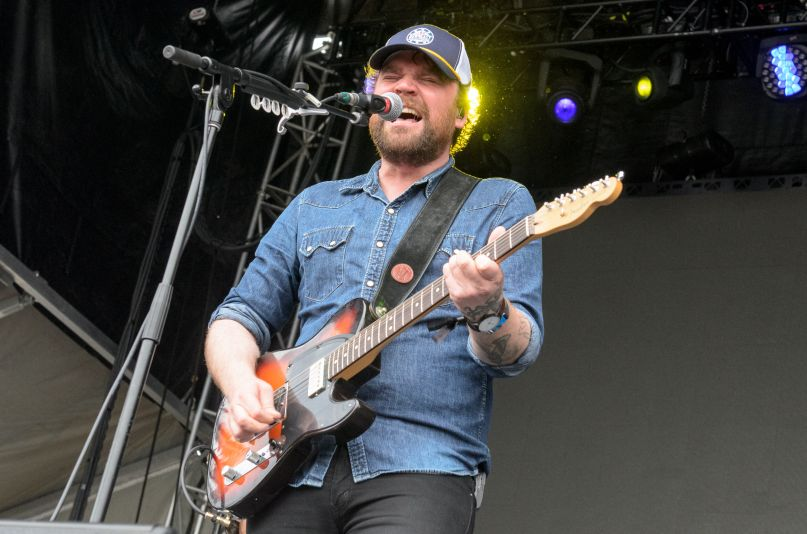 Frightened Rabbit's Scott Hutchison, photo by Ben Kaye