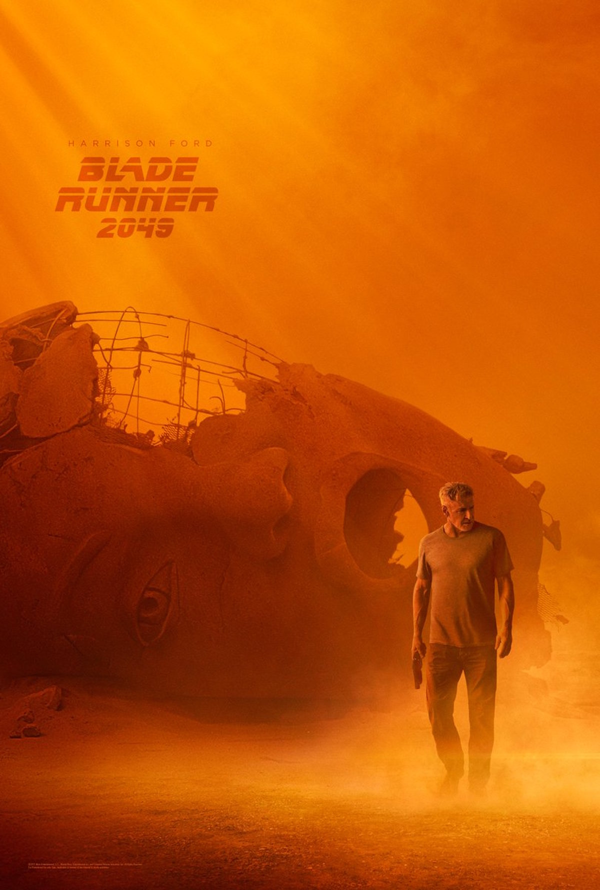 blade runner 2049 poster ford Here are two new swanky posters for Blade Runner 2049