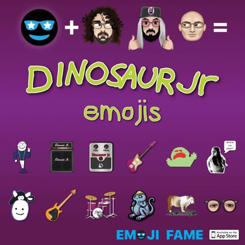 emoji1 Dinosaur Jr. announce more 2017 tour dates, plus their very own emojis