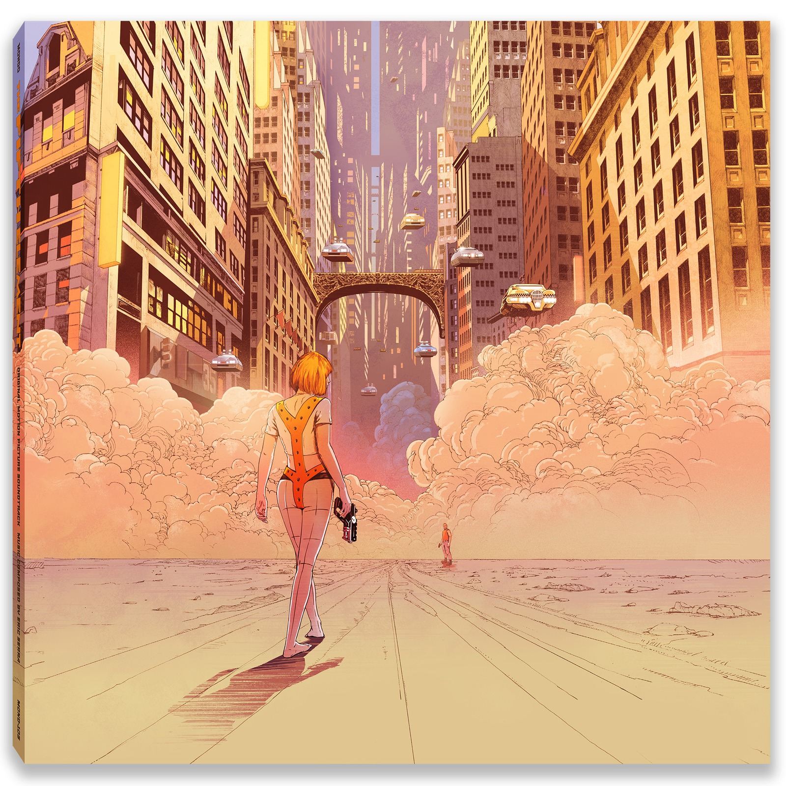 fifth element vinyl cover Wind blows, fire burns, and Mondo announces gorgeous vinyl release of The Fifth Element soundtrack