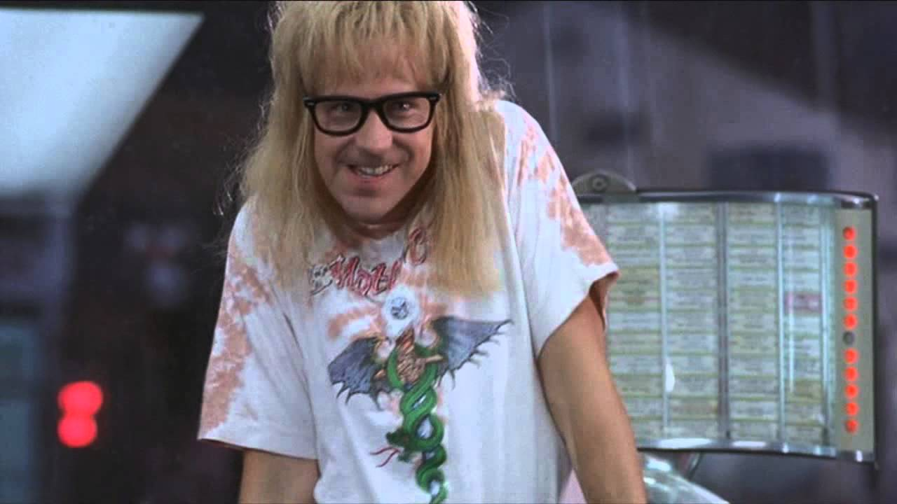 Garth in Wayne's World