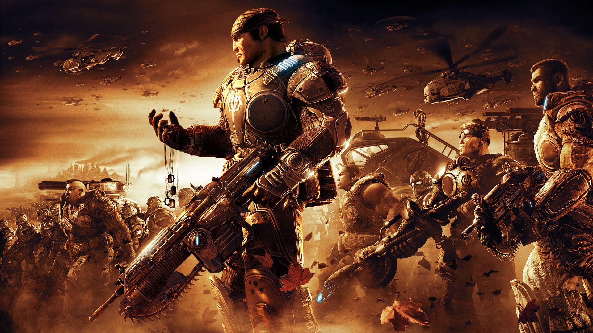 Gears Of War Live Action Film Adaptation Is On The Way