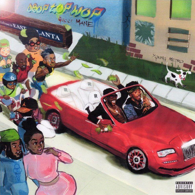 gucci mane drop top wop cover art1 Gucci Mane delivers new album DropTopWop: Stream/download