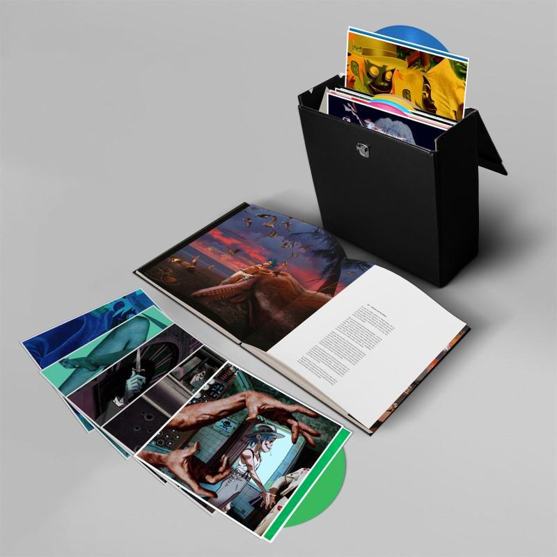 humanz vinyl box Gorillazs Humanz vinyl box set boasts 14 unreleased bonus tracks