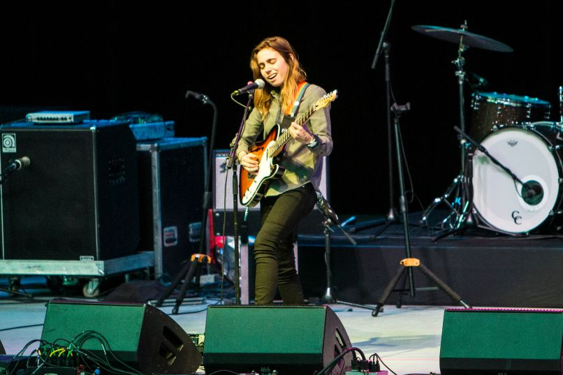 julien baker 1 Live Review: Conor Oberst at LAs Greek Theatre (5/13)