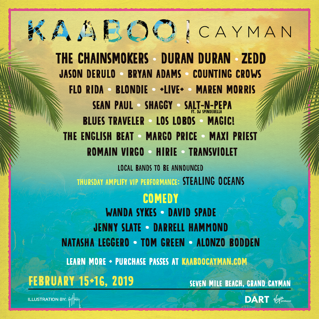 Win Tickets to KAABOO Cayman 2019 | Consequence of Sound