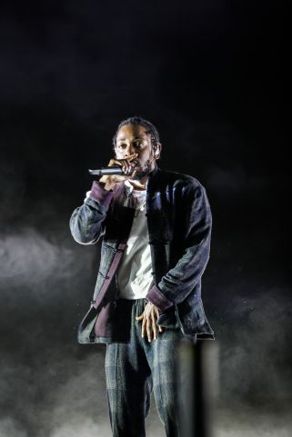 kendrick lamar by catlin miller2 In Photos: Rolling Loud Hip Hop Festival 2017