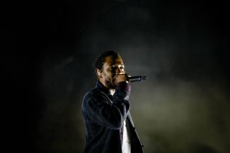 Kendrick Lamar // Photo by Cat Miller