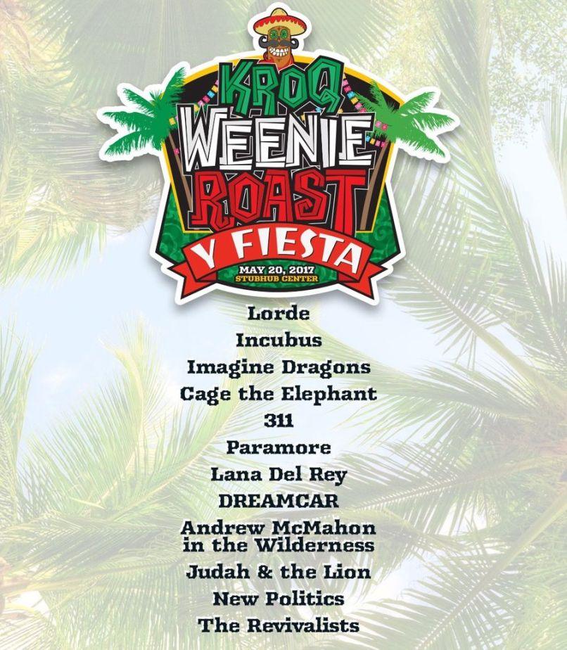 Festival Review: KROQ Weenie Roast Y Fiesta 2017