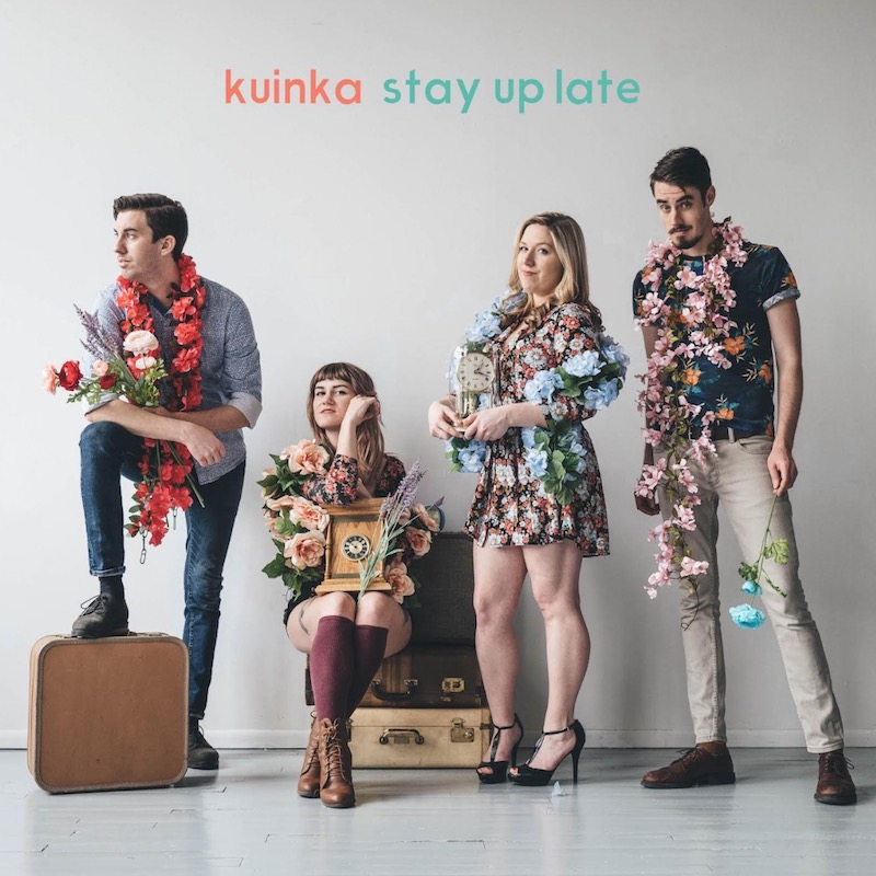 kuinka stay up late ep cover Kuinka debut vibrant new EP Stay Up Late: Stream