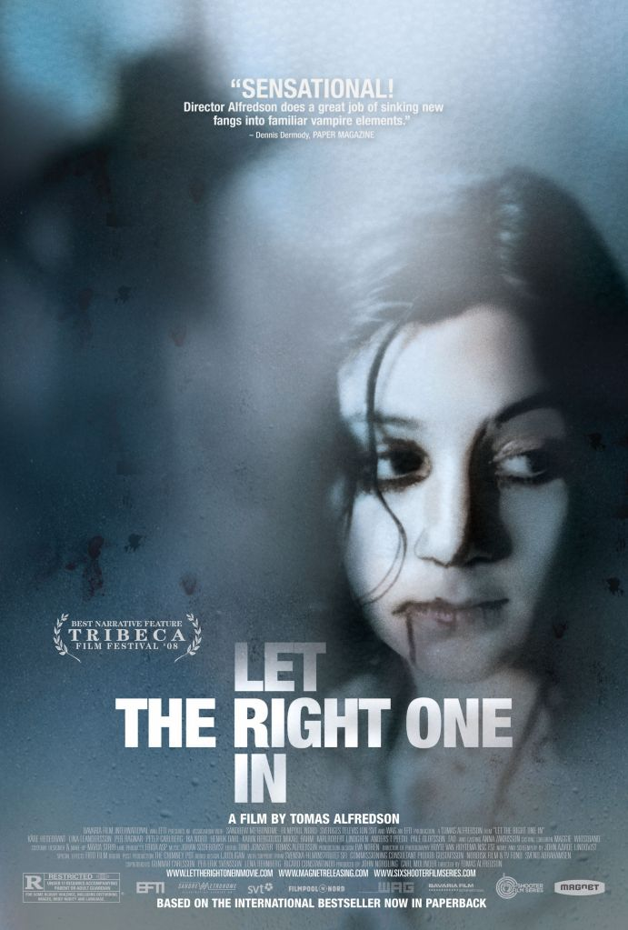 let the right one in poster In 2008, Let the Right One In Depicted Teenage Love as Bloodlust