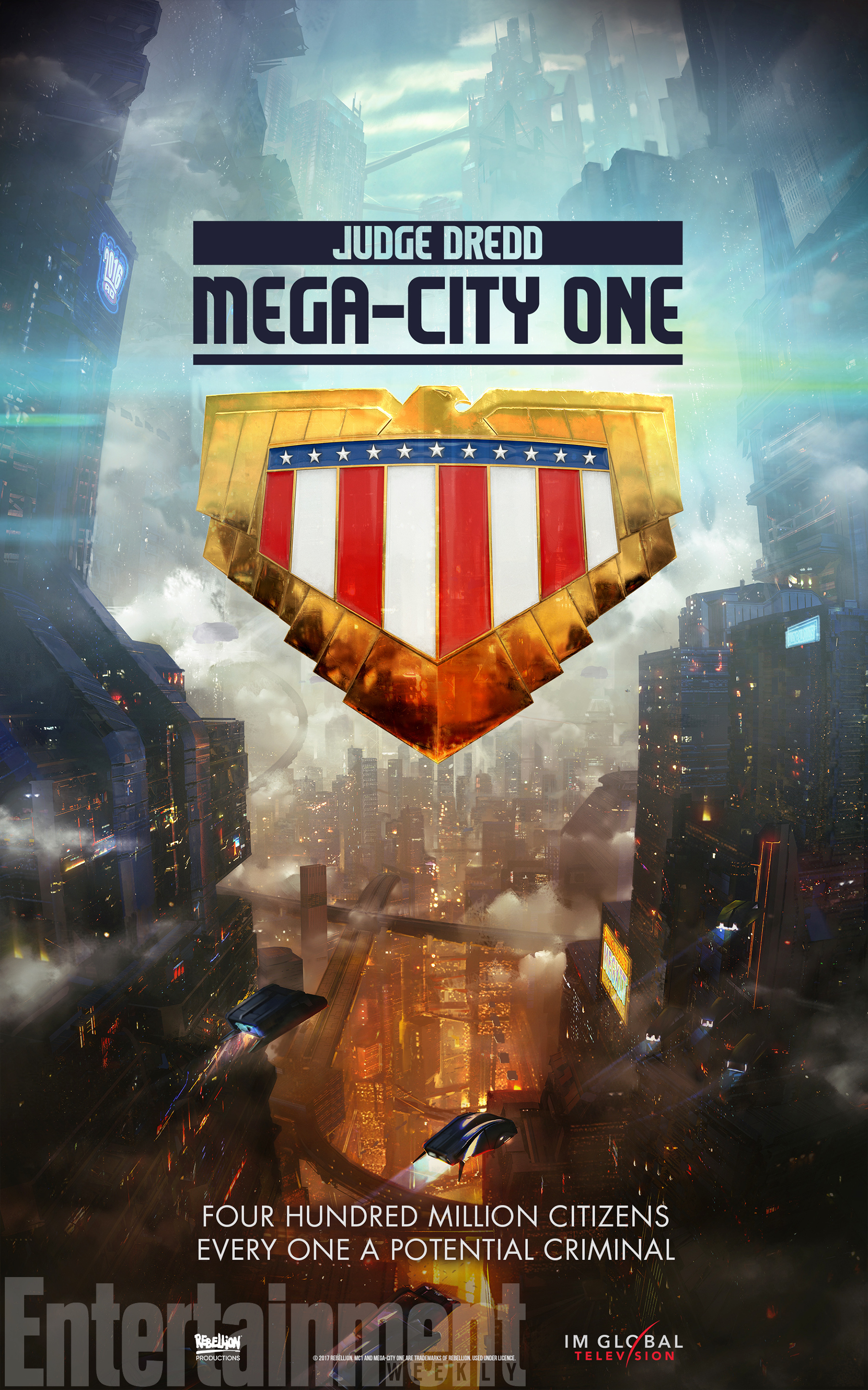 mc1 poster Judge Dredd will now uphold the law in new TV series