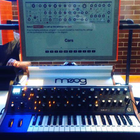 Moog Bass // Photo by Cap Blackard