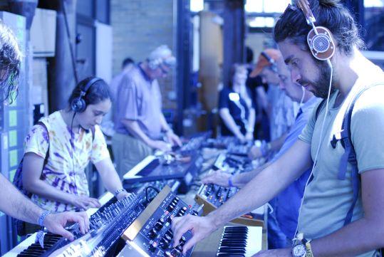 Moog Pop Up Factory // Photo by Cap Blackard