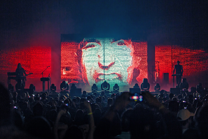 photo by will ohare Vanguards Meets the Man Behind Nine Inch Nails Stage Show