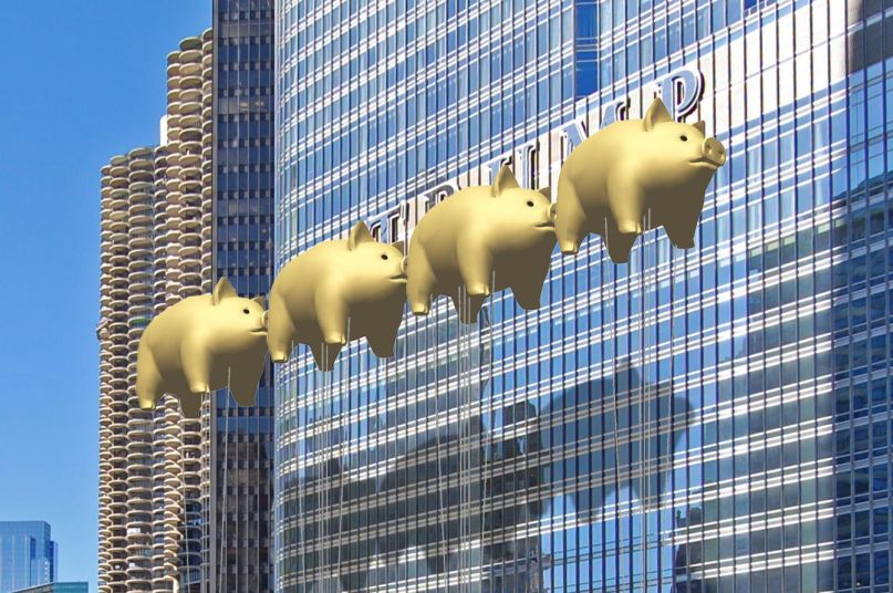 Flying pigs inspired by Pink Floyd's Animals will obscure