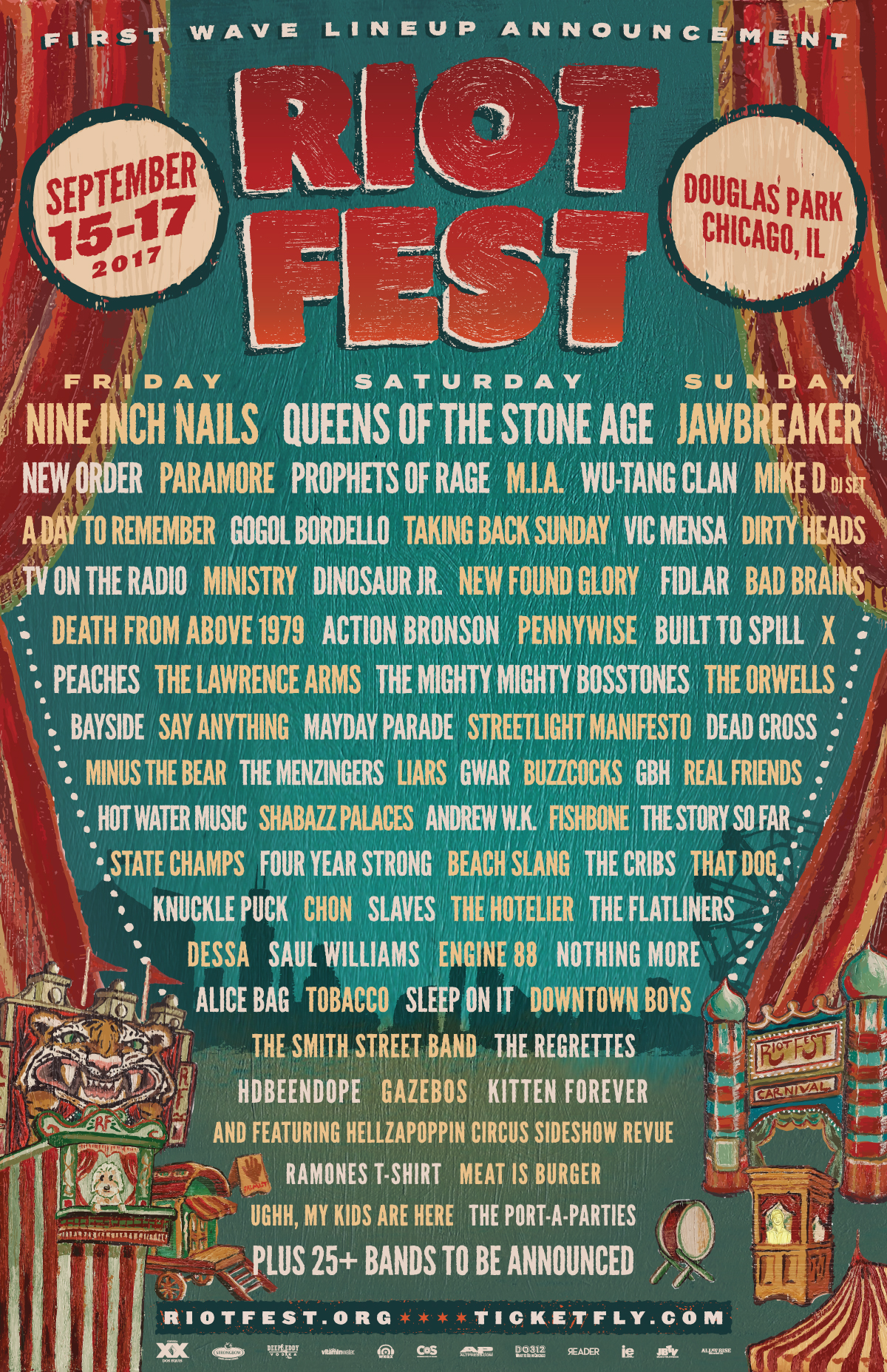 riotfest 2017 Win VIP Passes to Riot Fest 2017