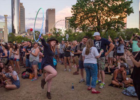 Shaky Knees Music Festival, Day 2 // photo by David Brendan Hall