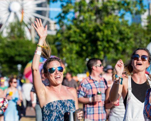 Shaky Knees Music Festival, Day 3 // photo by David Brendan Hall
