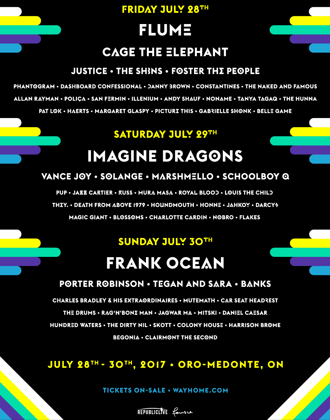 wh 2017 poster master rgb webfront WayHome Festival is offering free tickets to Fyre Festival survivors