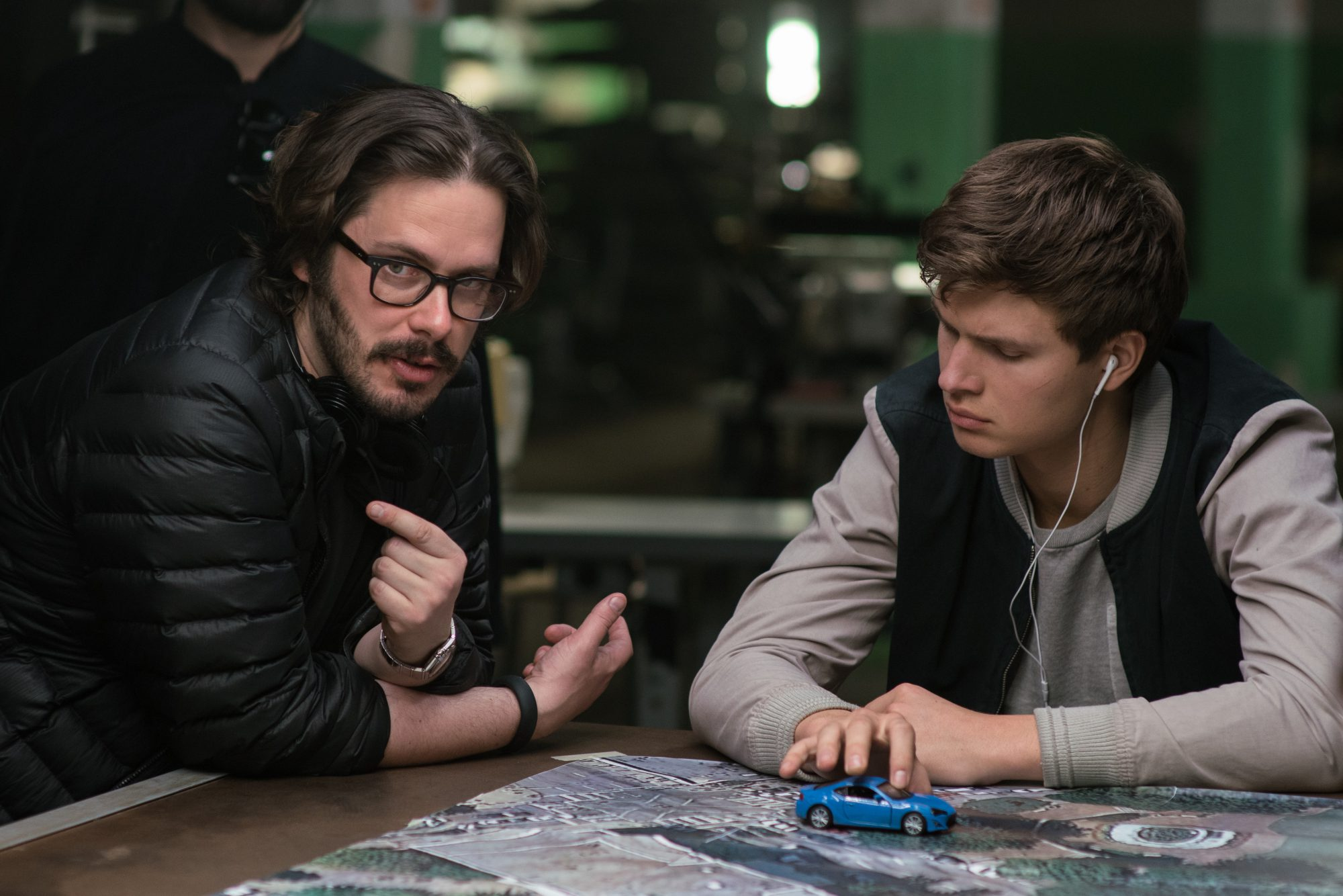 baby driver edgar 2 e1497977586932 Director Edgar Wright on Baby Driver and the Need for Original Blockbusters