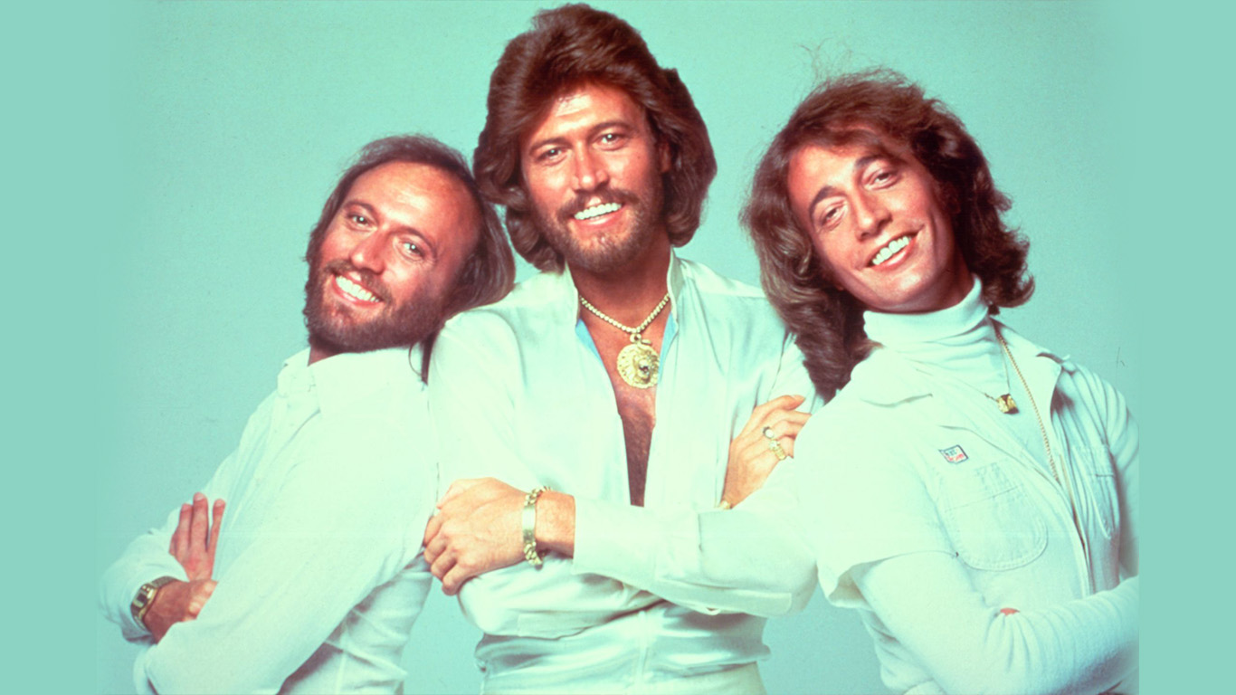 bee gees art ppcorn 2016 The 10 Best Bands with Siblings