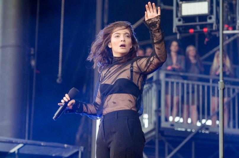 Lorde, photo by Ben Kaye