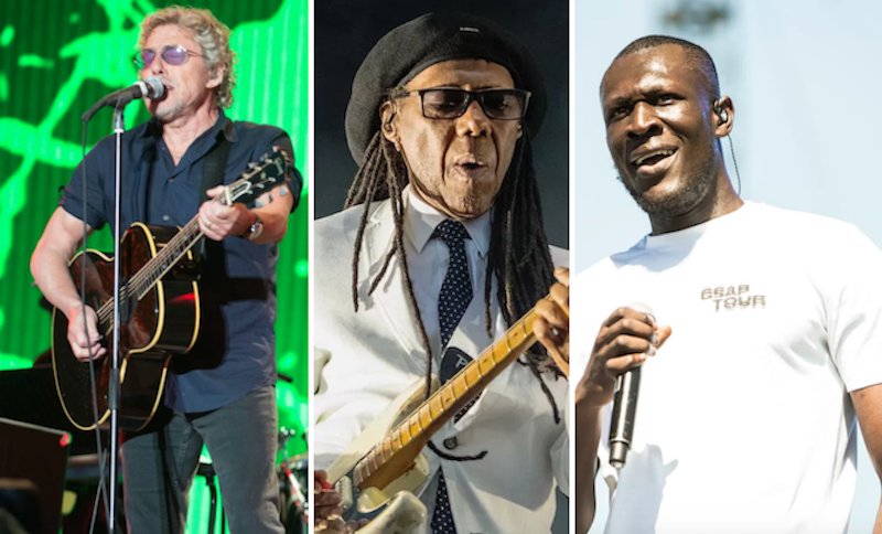Nile Rodgers, The Who, Stormzy, 47 others cover