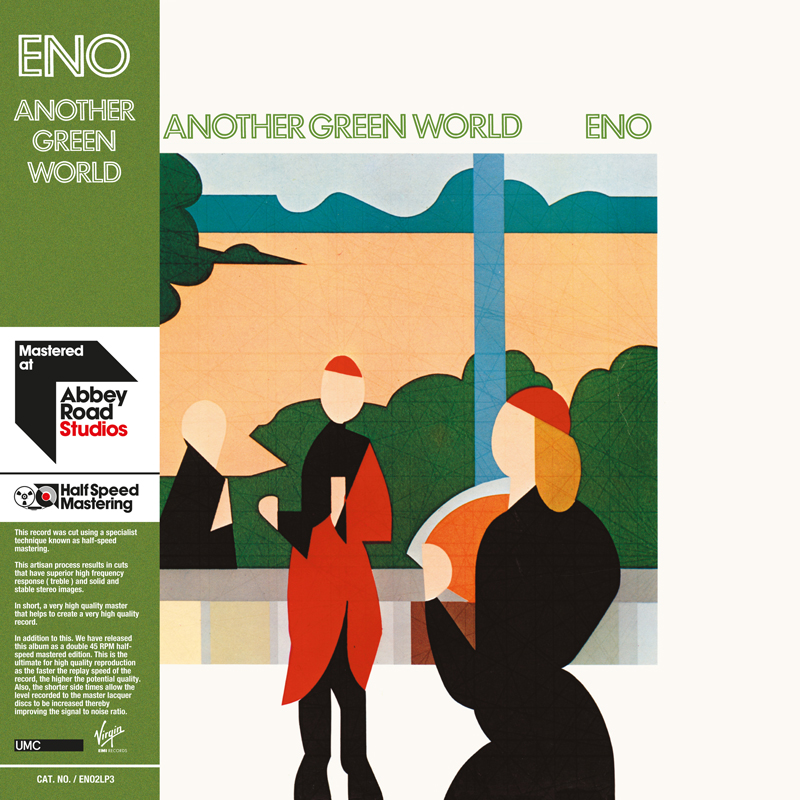 brian eno another green world Early Brian Eno solo albums receive 45RPM vinyl remasters