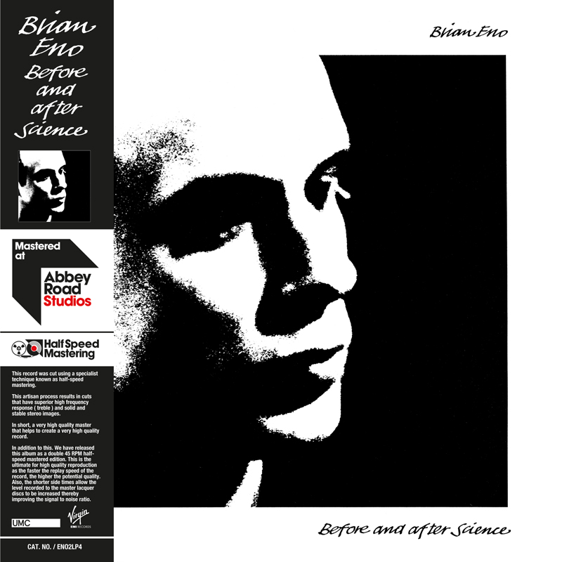 brian eno before and after science Early Brian Eno solo albums receive 45RPM vinyl remasters