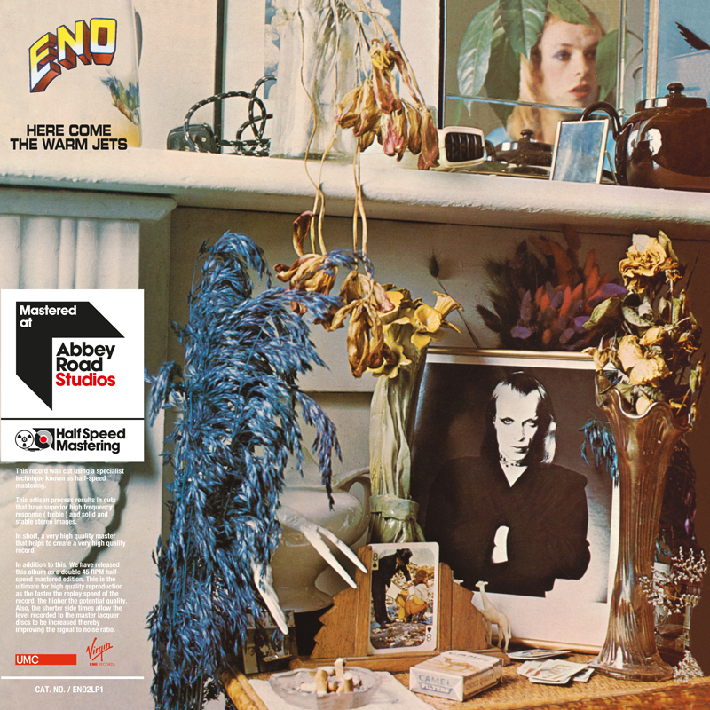 brian eno here come the warm jets art Early Brian Eno solo albums receive 45RPM vinyl remasters