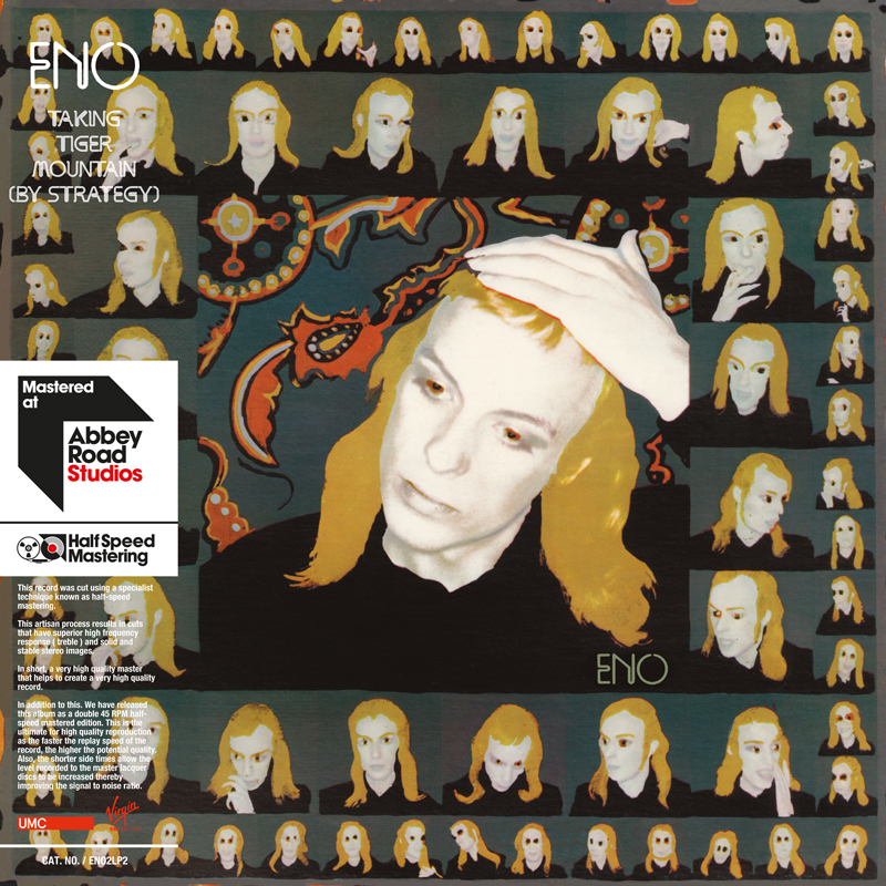 brian eno taking tiger mountain Early Brian Eno solo albums receive 45RPM vinyl remasters