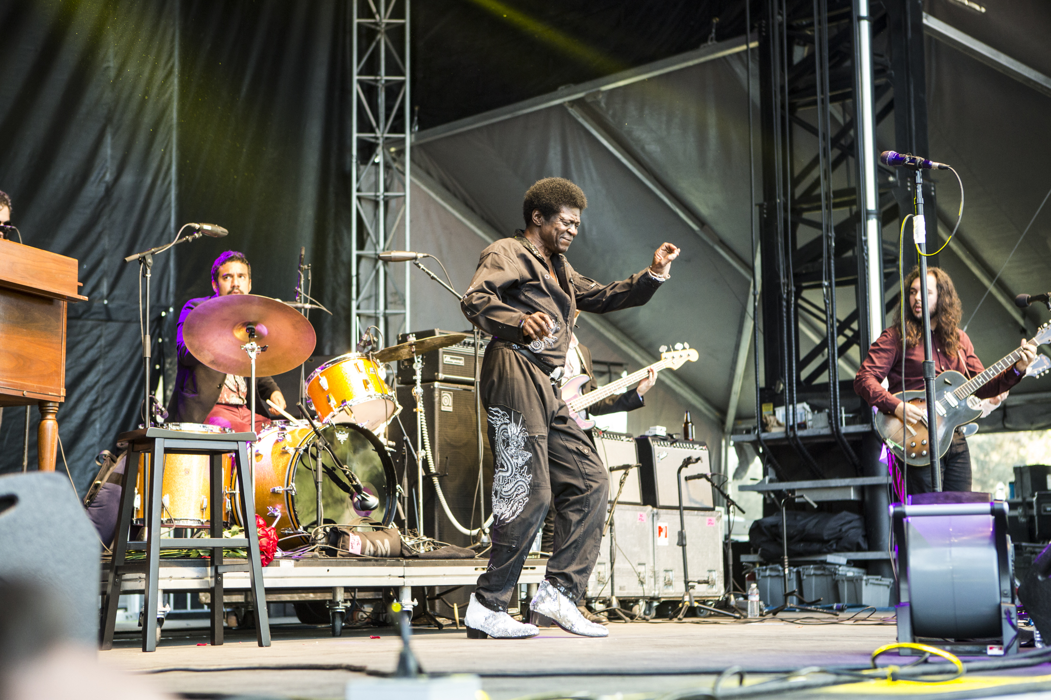 Charles Bradley // Photo by Philip Cosores