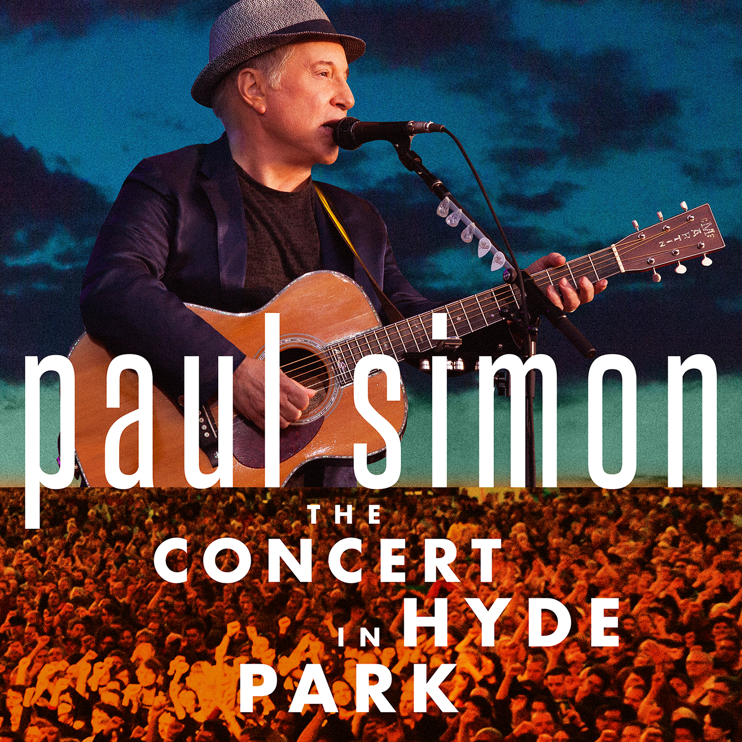 cover art Paul Simon performs The Obvious Child at massive Hyde Park show in 2012    watch