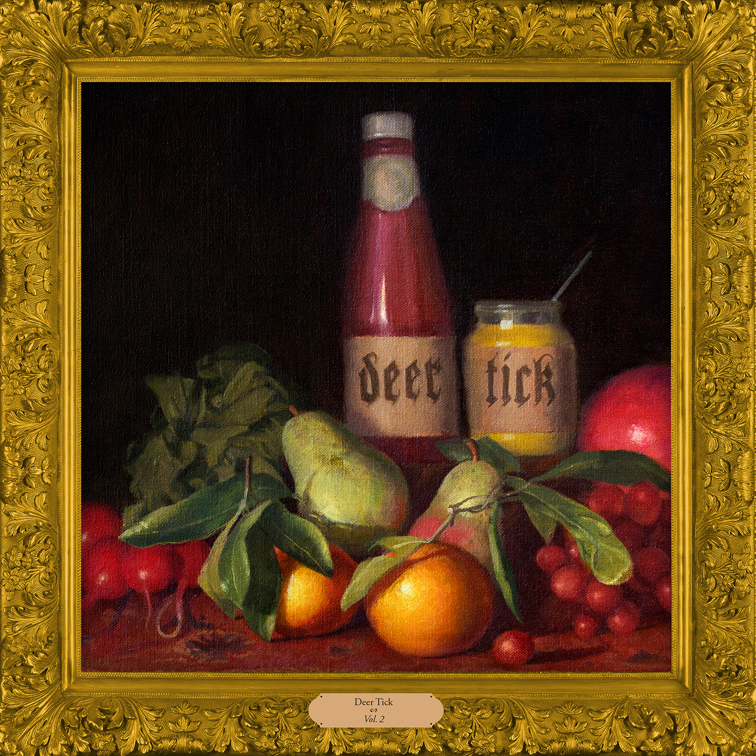 deer tick vol 2 1500x1500 300dpi Deer Tick announce two self titled records, share Sea of Clouds and Its a Whale    listen