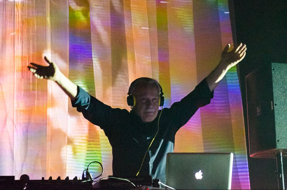 Giorgio Moroder, photo by Ben Kaye