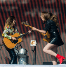 HAIM // Photo by Nathan Dainty