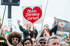 Jeremy Corbyn // Photo by Nathan Dainty