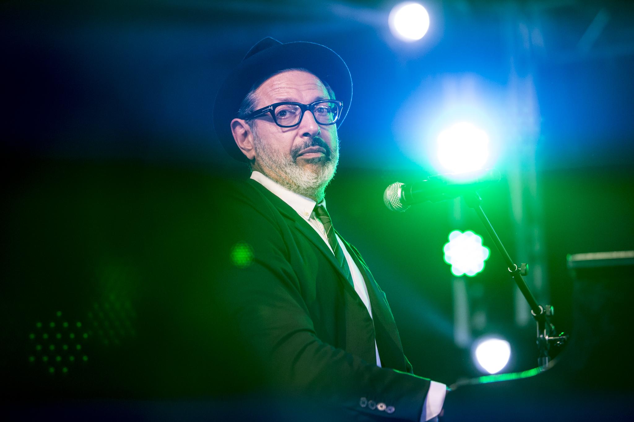 Jeff Goldblum // Photo by Philip Cosores