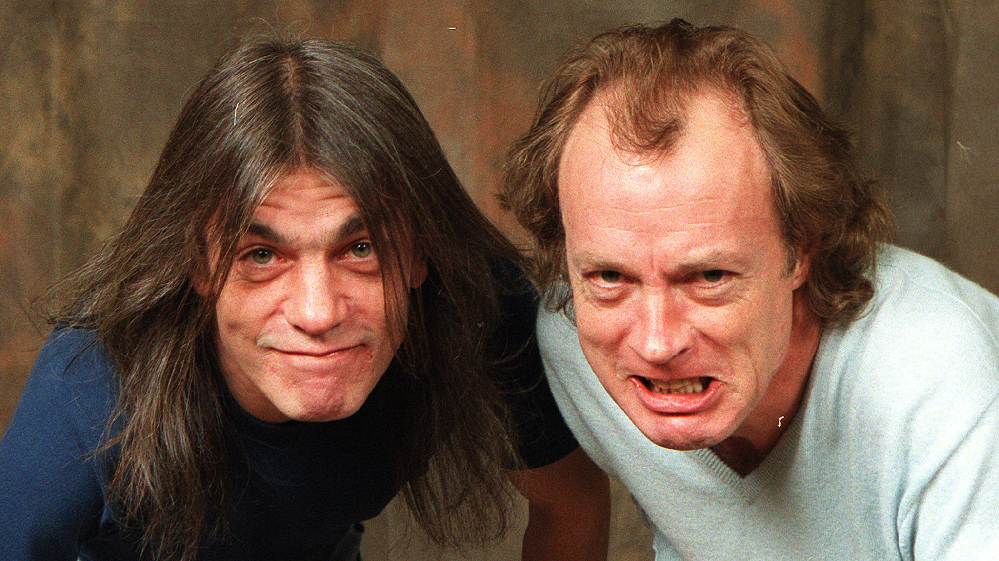 malcolm and angus young photo jaime sabau for the l a times The 10 Best Bands with Siblings