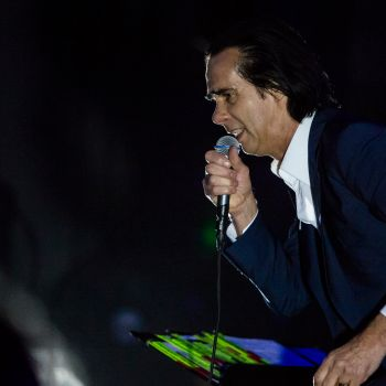 Nick Cave and the Bad Seeds, photo by Philip Cosores