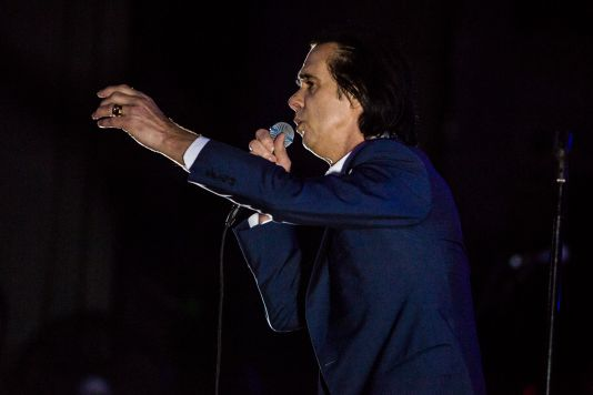Nick Cave and the Bad Seeds // Photo by Philip Cosores