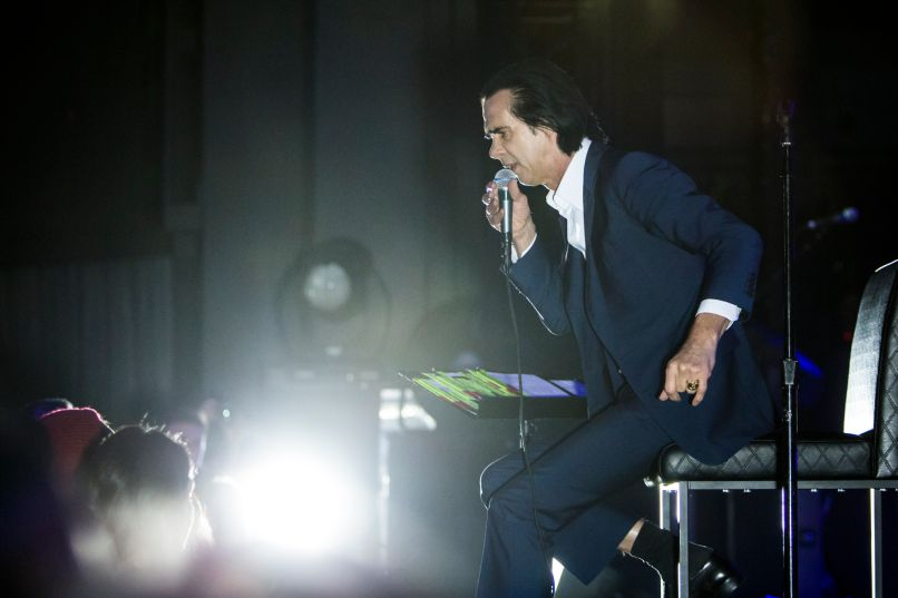 nick cave and the bad seeds 6 Live Review: Nick Cave and the Bad Seeds at LAs Greek Theatre (6/29)