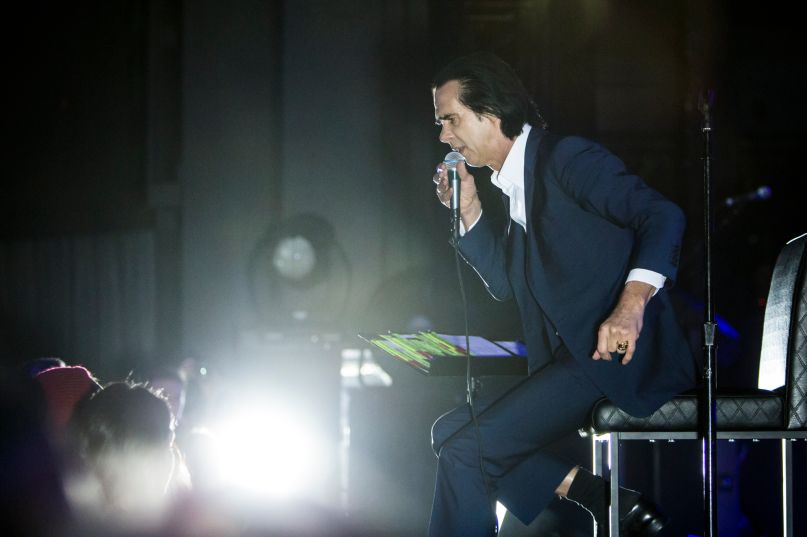 Nick Cave, photo by Philip Cosores