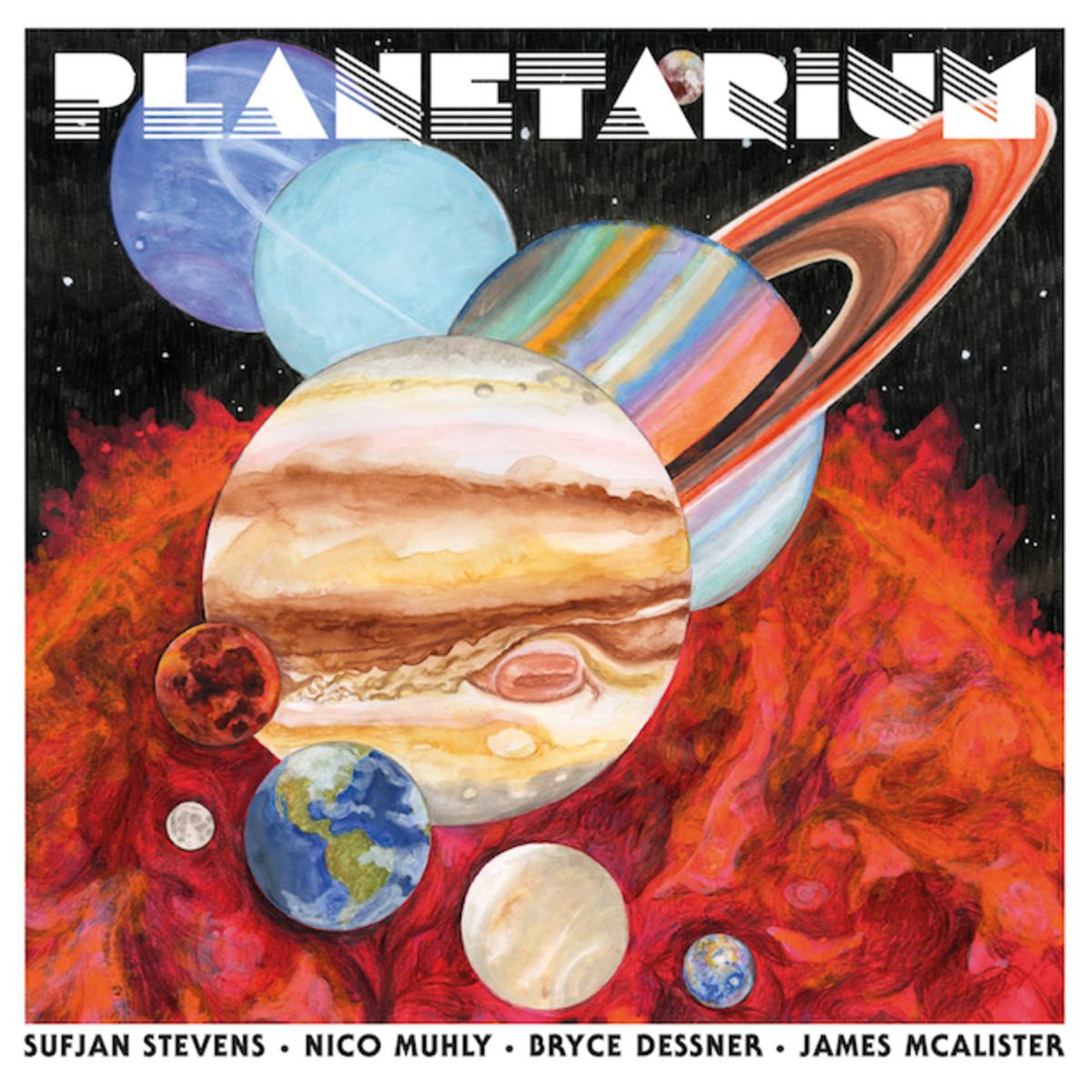 planetarium sufjan stream album Sufjan Stevens, The National's Bryce Dessner, and Nico Muhly release collaborative album Planetarium: Stream/download