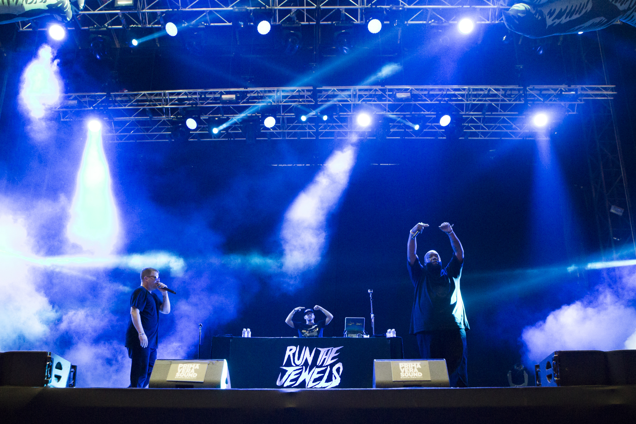 Run the Jewels // Photo by Philip Cosores