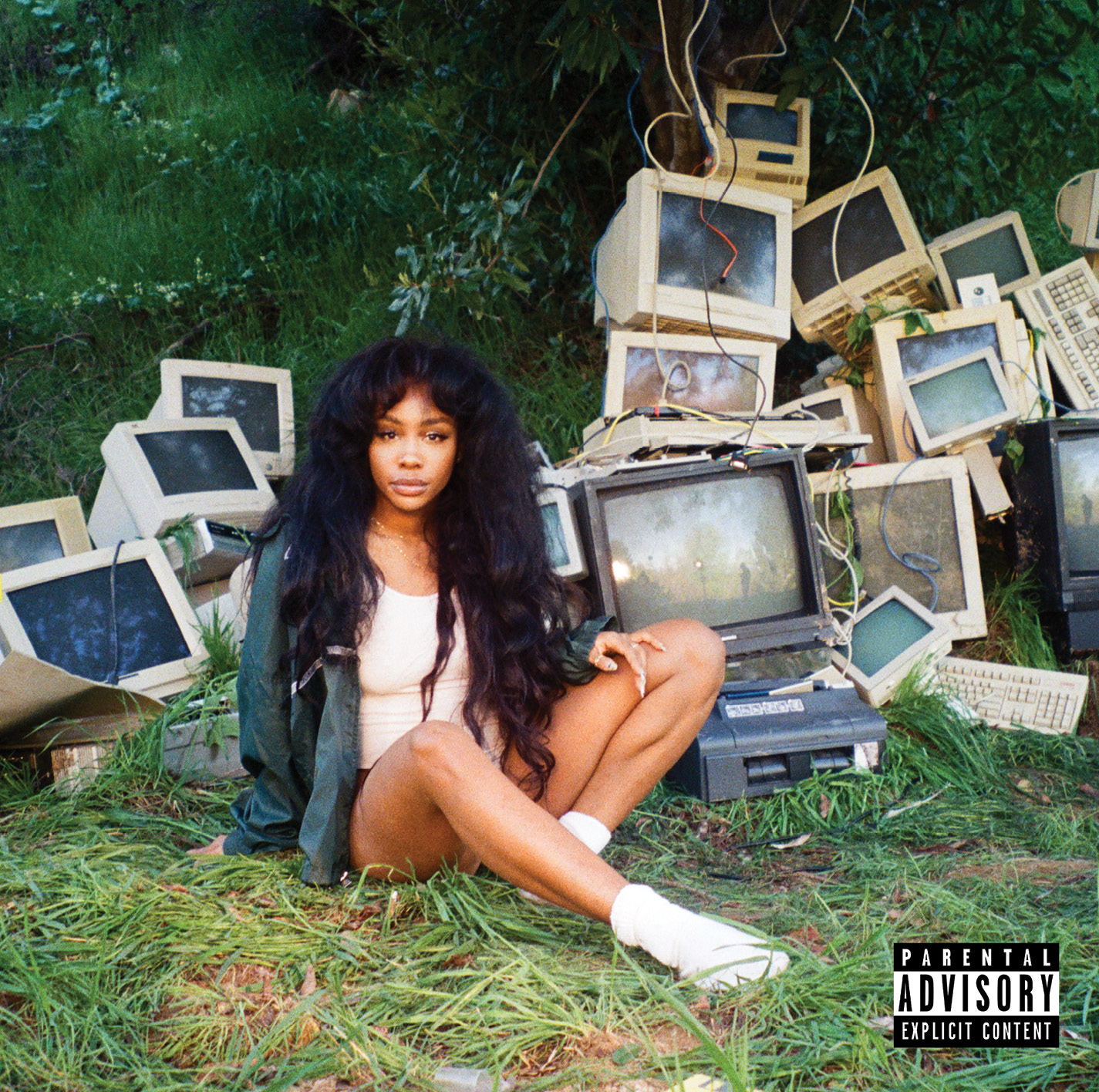 sza album artwork ctrl album explicit Top 50 Albums of 2017