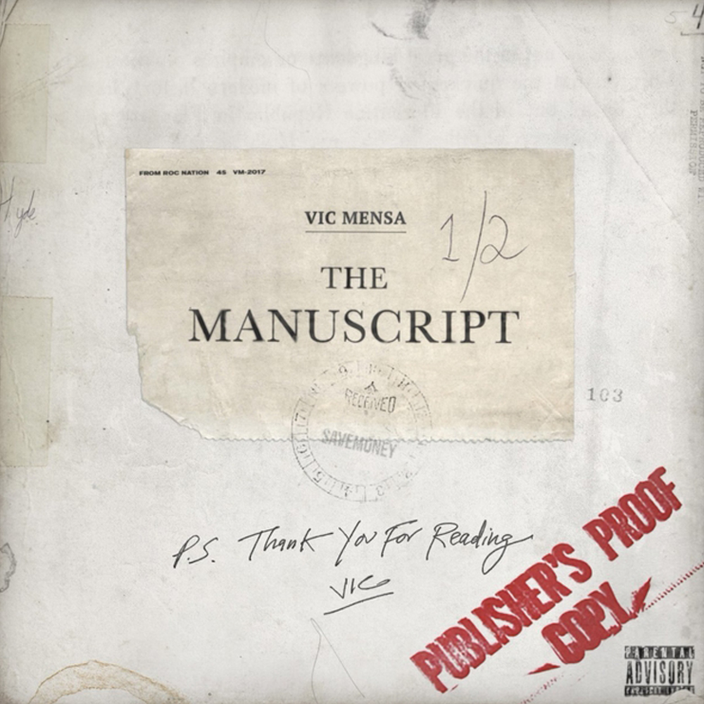 vic mensa the manuscript stream download ep Vic Mensa shares The Manuscript EP featuring Pusha T, Pharrell: Stream